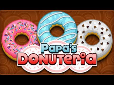 Papa's Donuteria Full Gameplay Walkthrough