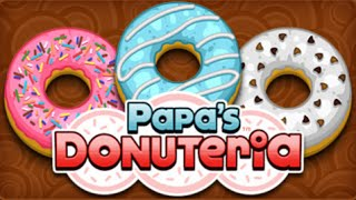 Papa's Donuteria Full Gameplay Walkthrough