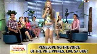 Penelope of 'Voice PH' guests on 'UKG'