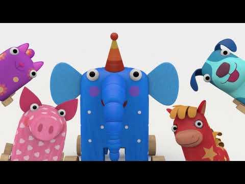 Деревяшки - Сборник мультиков - Любимые игры и игрушки Деревяшек