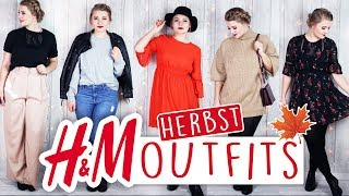 5 HERBST OUTFITS von H&M 2017 🍁 - Haul/Lookbook/Try On! #FALLinLOVE