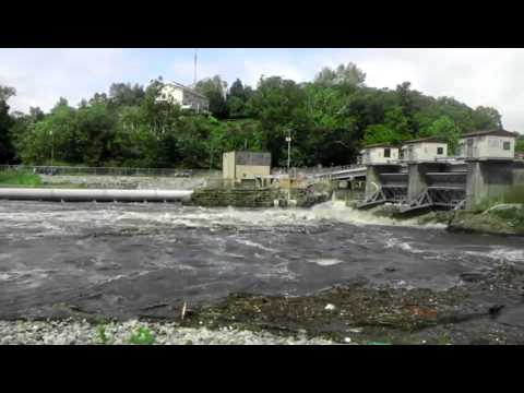 Pompton Lakes Dam / Ramapo River - Hurricane Irene