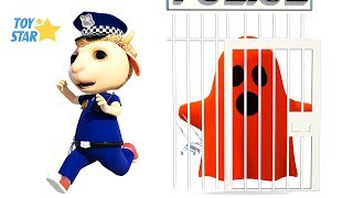 New 3D Cartoon For Kids  Dolly And Friends  Kids Police Jail Playhouse Toy 91