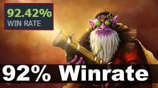 92% Winrate Sniper by 612 - Dota 2