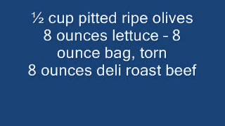 How To Preapir Sante Fe Beef And Hot Pepper Salad Recipe -  Healthy Recipes