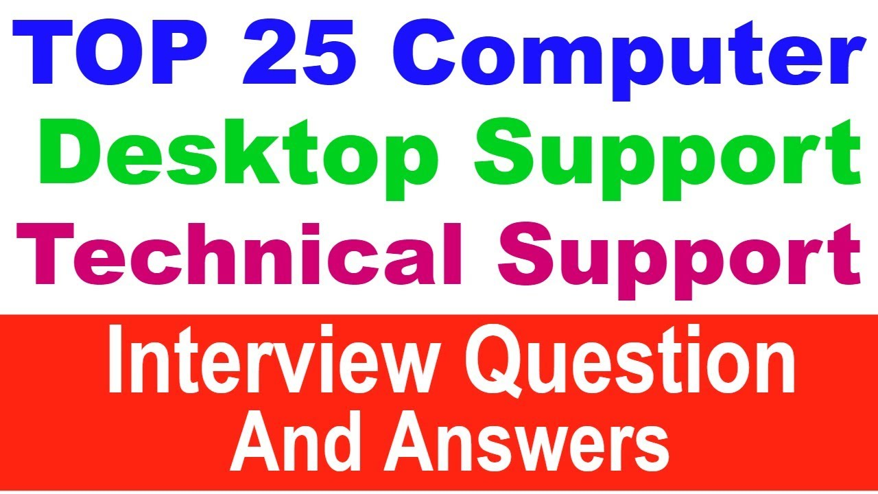 Pc Troubleshooting Questions And Answers Gallery Free Hardware Interview Pdf