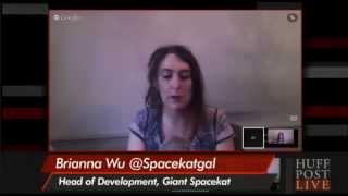 HuffPost Live #GamerGate Editon (Guest: Brianna Wu, HotWheels, Erik Kain)