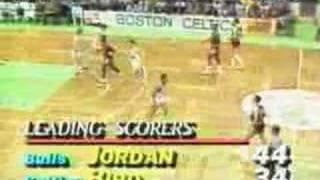 1986 NBA Playoffs - Celtics vs. Bulls