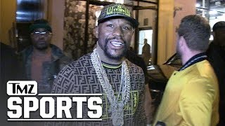 Floyd Mayweather Claps Back at 50 Cent Over Gervonta Davis Diss | TMZ Sports