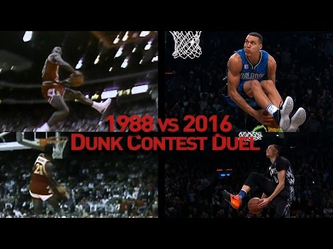 NBA Slam Dunk Contest Duel: 1988 vs 2016