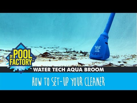 Watertech Aqua Broom How To Set Up Your Cleaner Youtube