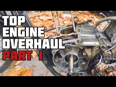 Top Engine Overhaul Part 1 | Honda TMX 155 (CG125)