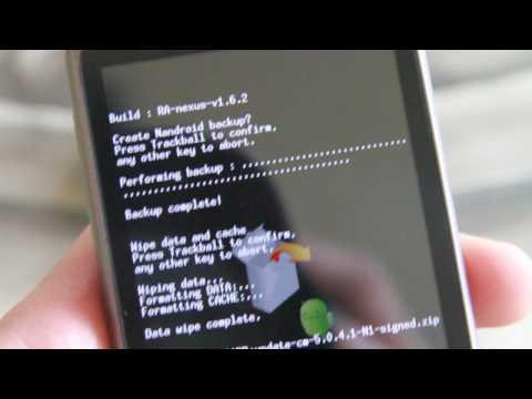 Nexus One Hack - How to Install the Cyanogen Mod on your Nexus One!