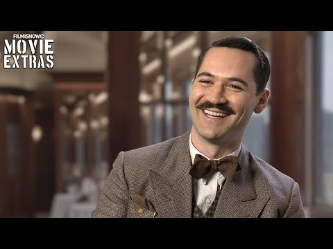 Murder on the Orient Express | On-set visit with Manuel Garcia-Rulfo - Biniamino Marquez