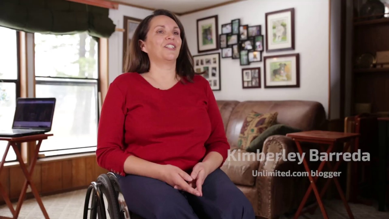 """With SoftWheel I don't have as much pain"" - Kimberley Barreda"