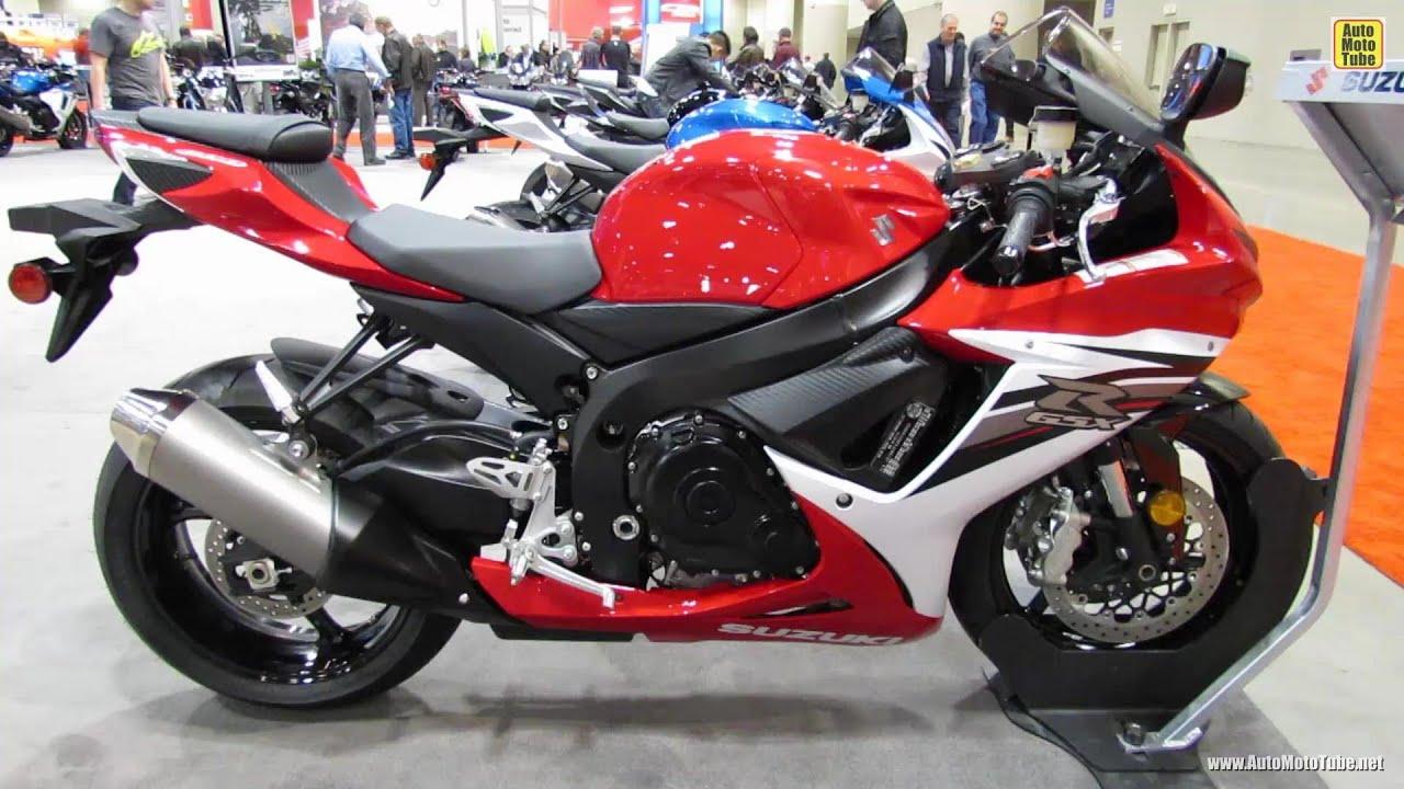 2013 Suzuki GSX R600   Walkaround   2012 Toronto Motorcycle Show