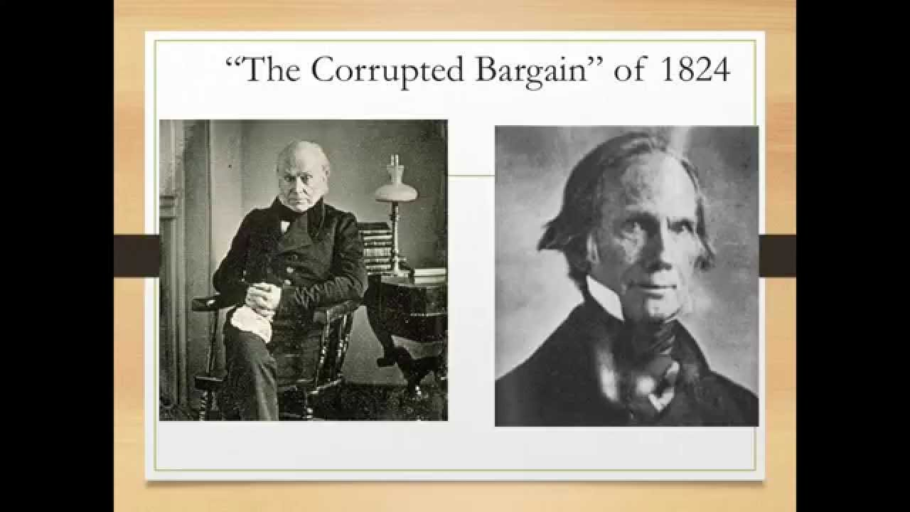 Help on essay of the corrupt bargain.?