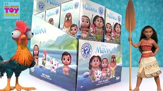 Disney Moana Funko Mystery Minis Full Set Unboxing Toy Review | PSToyReviews