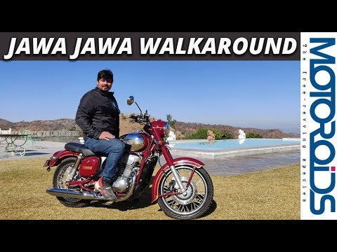 Jawa (Classic) Walkaround Review | How Different Is It Than The 42? | Motoroids