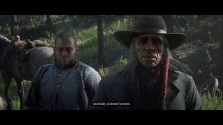 Red Dead Redemption 2 saving monroe