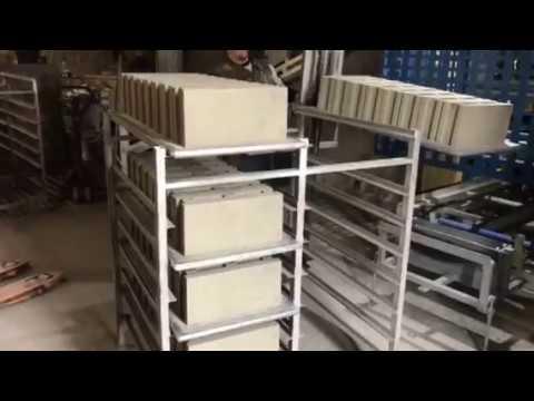 Concrete block making machine RVP 2000 GTA METALIKA mašina za betonsku galanteriju