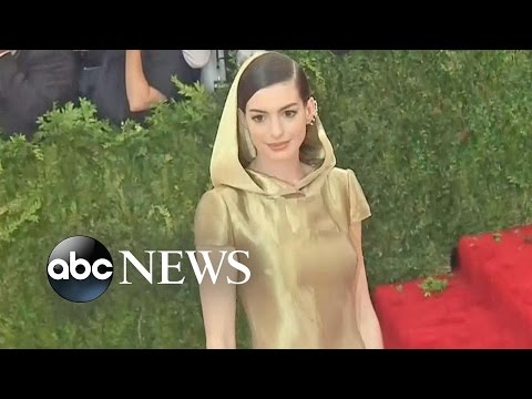 Anne Hathaway Defends Her Baby Weight
