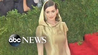 Anne Hathaway Defends Her Baby Weight