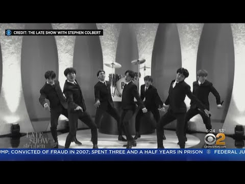 BTS Pays Tribute To The Beatles On Colbert Mp3