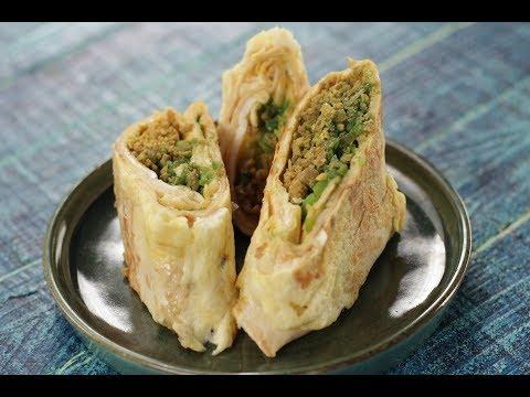 Baida Roti Pockets | Sanjeev Kapoor Khazana