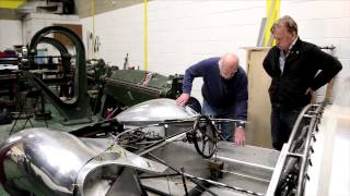 David Piper talks about how he approached the Ferrari 330 P4 #0858 rebody -- Part 1