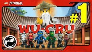 LEGO Ninjago WU-CRU Прохождение на русском языке - 1 серия - СПАСЕНИЕ ЗЕЙНА