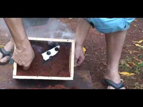 Fundicion aluminio 1 4 youtube for Celosias de aluminio para jardin