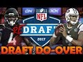 What if the 2017 NFL Draft Had a Do-Over? 2017 NFL Redraft | Madden 18 Connected Franchise
