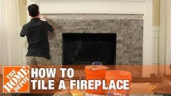 Tiling a Fireplace: DIY Project