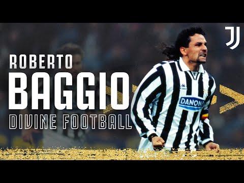 🇮🇹 Roberto Baggio - Divine Football   An Anthology of Il Divin Codino   Juventus