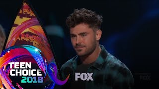 Zac Efron Wins Choice Drama Movie Actor | TEEN CHOICE