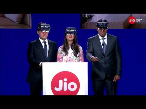 News: India Telecom Giant Reliance Jio Partners with Startup Tesseract to Bring Augmented Reality Headsets to the Home