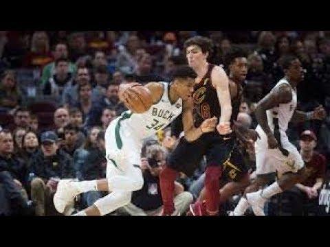 Milwaukee Bucks vs Cleveland Cavaliers NBA Full Highlights (15TH DECEMBER 2018-19)