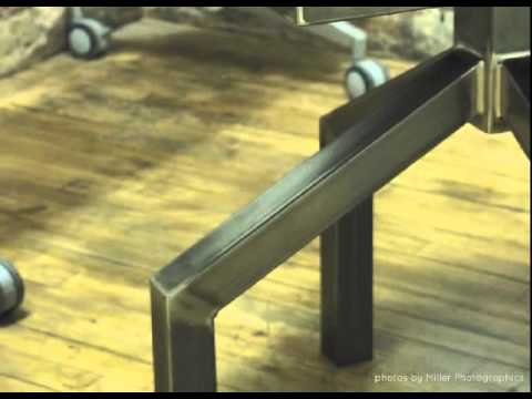 Where Wood Meets Steel Custom Furniture
