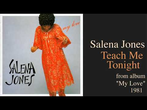 Salena Jones with Stuff