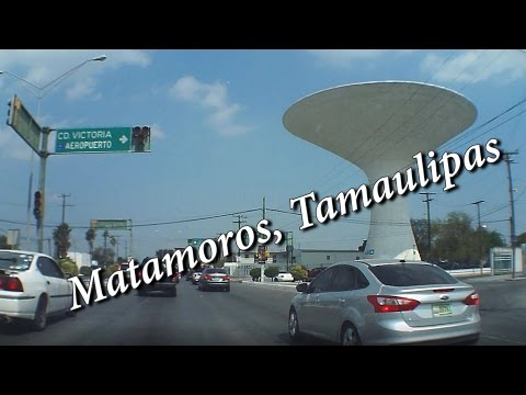 Calles, Matamoros, Tamaulipas, Abril 2017