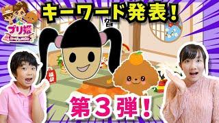 ★プリ姫コーデ&パズル お年玉キーワードキャンペーン第三弾★