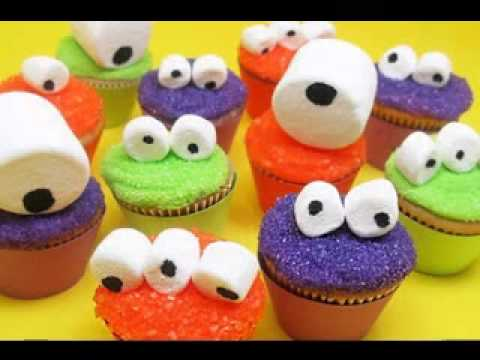 halloween cupcake decorating ideas youtube - Halloween Decorations Cupcakes