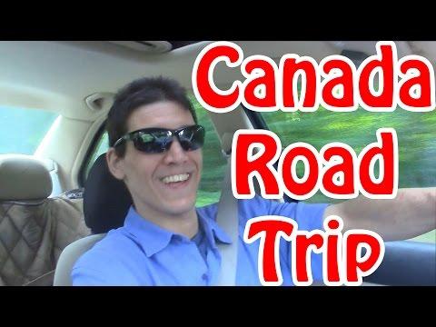 Road trip to Canada + Hilton Hotel Tour in Mississauga Ontario