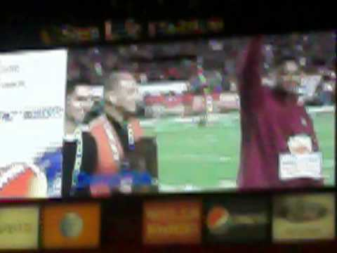 Warrick Dunn gets inducted into Orange Bowl Hall of Fame