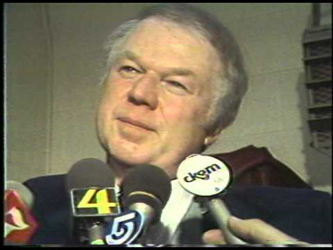 Don Cherry Post Game Interview 70's
