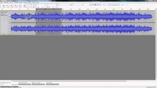 Audacity Trim Audio File Screencast