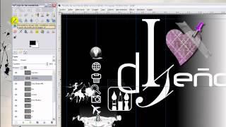 Curso de GIMP. Parte 20: Recoger color y uso de textura con el pincel