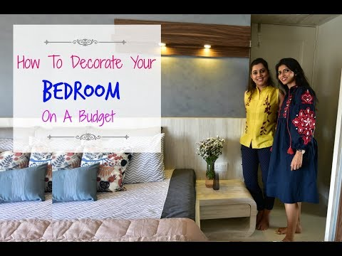 How To Decorate A Bedroom : An Indian Room Tour : Home Decor Tips & Ideas With Pallavi