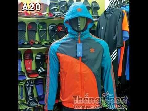Áo Gió Thể Thao Adidas Nike Tại Thắng Sport 2014